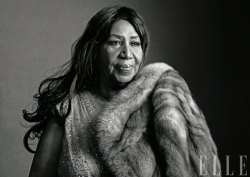 Aretha- (as told by Elle Magazine)